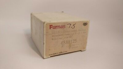 Furnas 48Ah125 Overload Relay 8.5A-12.5A Adjustable Range New In Box