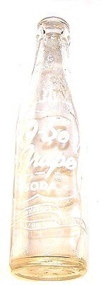 Vintage 1950's O-So Grape ACL Soda Pop Bottle Chicago Ex  Can Top Flat Fanta Ofr