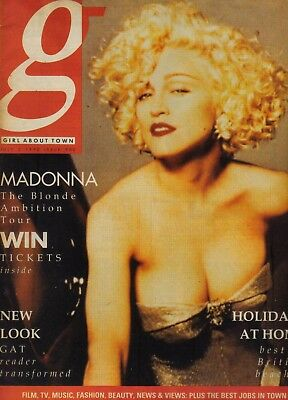 "Madonna full magazine "" Girl about town  """