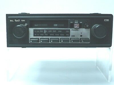 1980's Phillips Car Radio & Cassette - 400 - from VW Scirocco
