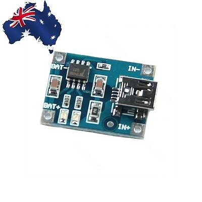 Charging Board - Charger Module -  5V Mini USB 1A Lithium Battery Charger