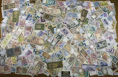 LOT 400 WORLD Notes MIX Different Periods for Dealers and Collectors (VG-AU) #04