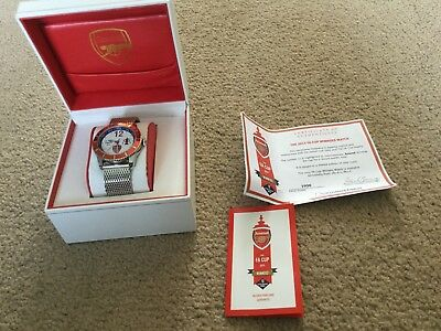 Men's arsenal the fa cup 2015 winners watch limited to 2015