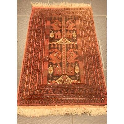 old rug afghan ca 330x225cm tappeto tapis. Black Bedroom Furniture Sets. Home Design Ideas