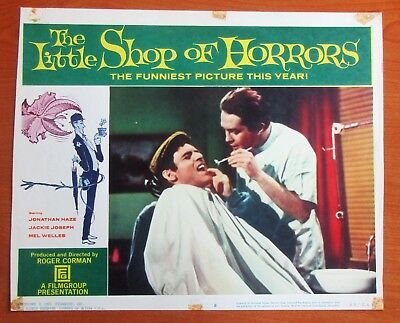 The Little Shop of Horrors (1961) Original Lot of Two Lobby Cards