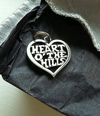 Heart o' the Hills silver Pendant