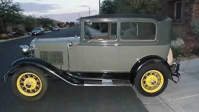 1931 Ford Model A Brown model a ford