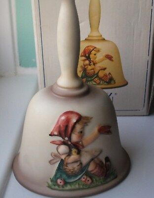 Goebel Hummel Second Edition Annual Bell  1979 Bas-Relief West Germany Boxed