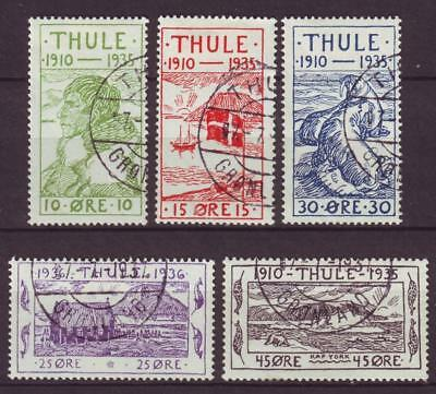 m3755/ Greenland Compleate Thule Bypost Local Issue 1935-1936