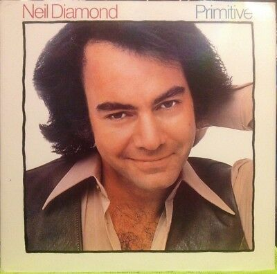 Neil Diamond Primitive Columbia Vinyl LP