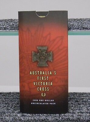 Australia's First Victoria Cross 2000 One Dollar Uncirculated pack