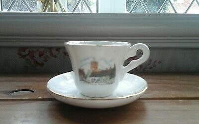 Beautiful...miniature, cup and saucer...EXCELLENT CONDITION..Fine Bone China..