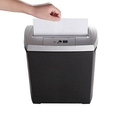 Bonsaii DocShred S170 8-Sheet Strip-Cut CD/Credit Card/Paper Shredder 55% Off