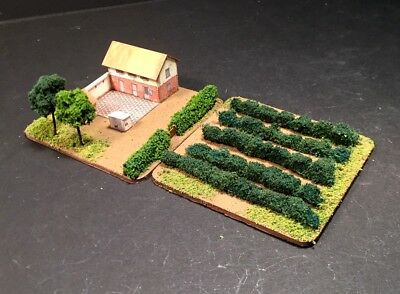 PAINTED Micro Armor 6mm Winery with Vineyard (M110)