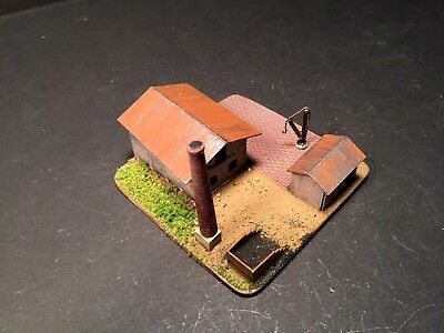 PAINTED Micro Armor 6mm Wreck able Factory (M111)