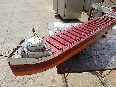 Model Great lakes Frieghter.