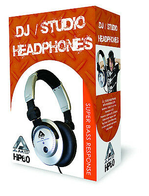 Pro Stereo Headphones, Dj, Studio & Personal Use. New!