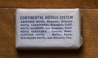 Many Decades Old Continental Hotel System Bar Soap