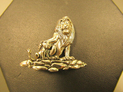 Sterling Silver Jewelry Disney Pin Brooch Pendant The Lion King