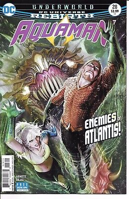 DC Comics Rebirth AQUAMAN #28 first printing cover A