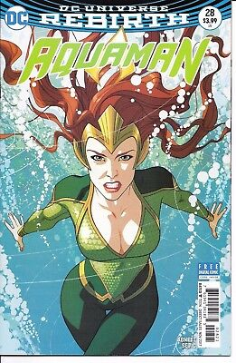 DC Comics Rebirth AQUAMAN #28 first printing cover B