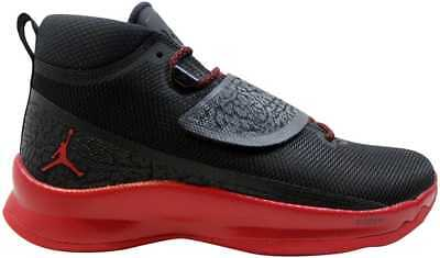 official photos b0231 7858f Nike Air Jordan Super Fly 5 PO Black Gym Red-Gym Red 881571-
