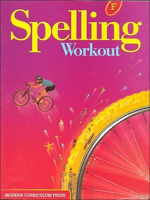 Grade 6 MCP Spelling Workout Level F Student Book 6th Modern Curriculum Press