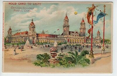 Hold-To-Light, 1904 St Louis World's Fair, Machinery Building