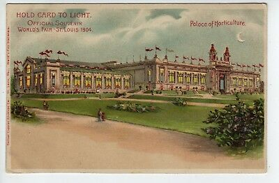 Hold-To-Light, 1904 St Louis World's Fair, Palace Of Horticulture