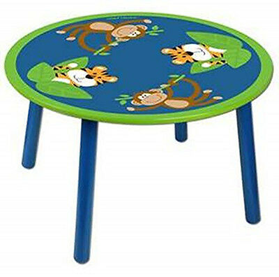 Stephen Joseph E7 Kids Baby Boy Wooden Critter Activity Table – Monkey SJ-105...