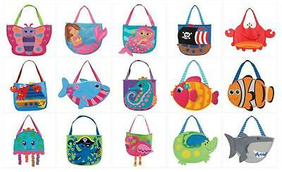 Stephen Joseph E7 Baby Girl Beach Tote Bag & Sand Toys - Choose Design SJ-1003