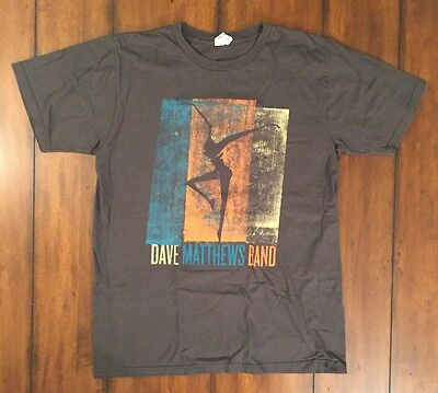 Dave Matthews Band DMB Jam Band 2008 Concert Tour Band T Shirt Gray Medium