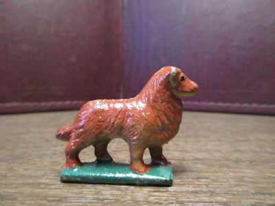 Vintage Small Cast Iron Dog - Collie