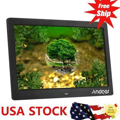 """Andoer 10"""" HD Wide Screen LCD Digital Photo Picture Frame + Remote Control L6H6"""