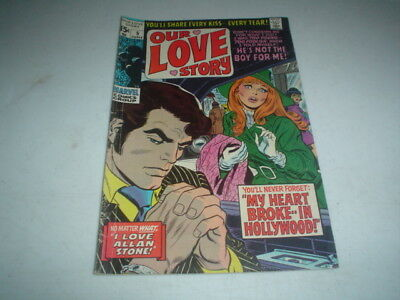OUR LOVE STORY 5 Steranko Art