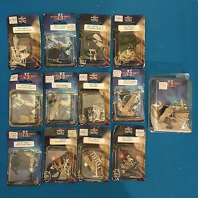 Babylon 5 Wars Miniature War Game Lot Of 13 New In Package