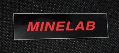 Minelab Excalibur Sword  Battery Pod Lower Decal Reproduction
