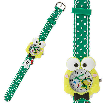 KEROKERO KEROPPI Face Type Rubber Watch Sanrio kawaii Cute Free Shipping