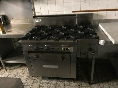 Commercial Grade Gas Stove