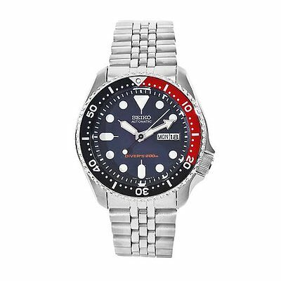 ☀ SEIKO SKX009K2 Automatic Diver's Analog Men's Watch Stainless Steel Japan ☀