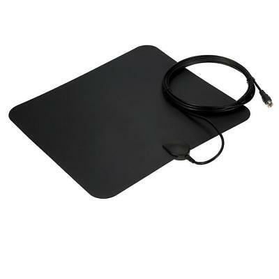 Thin Flat Indoor TV Antenna HD High Def TVScout TVFox Style HDTV VHF UHF DTV new