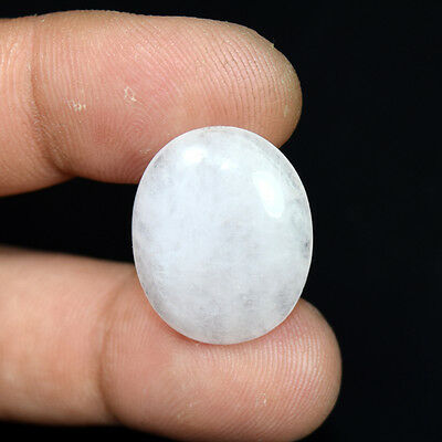 17.05 Cts. 100 % Natural Morganite Oval Cabochon Untreated Loose Gemstones