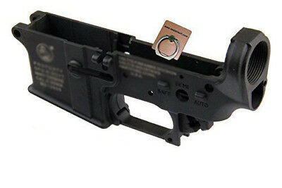 SE GEAR CT Type Airtsoft Toy Lower Receiver Set For WA M4 / M16 GBB Series Black
