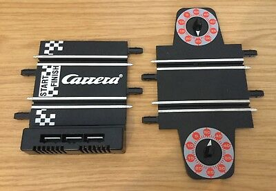 Carrera Go Lap Counter & Start Grid Track Sections 1:43 Slot Car Extension