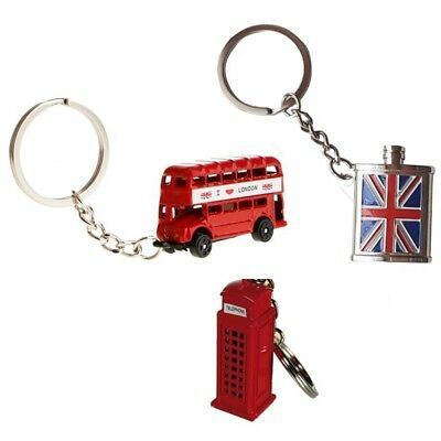 1 Porte Cles Londres Angleterre Uk Cabine Bus Coupe Ongle Mode