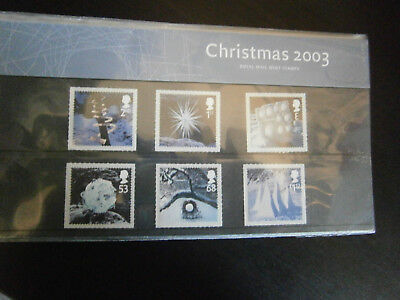 Great Britain Commemorative Presentation Pack - 2003 Christmas