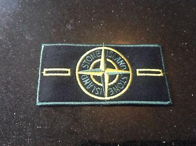 Genuine Stone Island Green Edge Badge | Pre Anno 2000 |