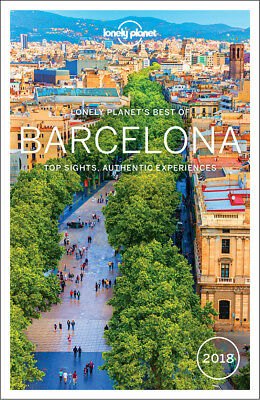 Lonely Planet Best of Barcelona 2018 Travel Guide BRAND NEW 9781786571380