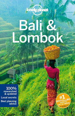 Lonely Planet Bali Lombok Travel Guide BRAND NEW 9781786575456