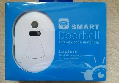 Wireless WiFi Door Bell Camera Door Phone Visual Picture Doorbell Alarm